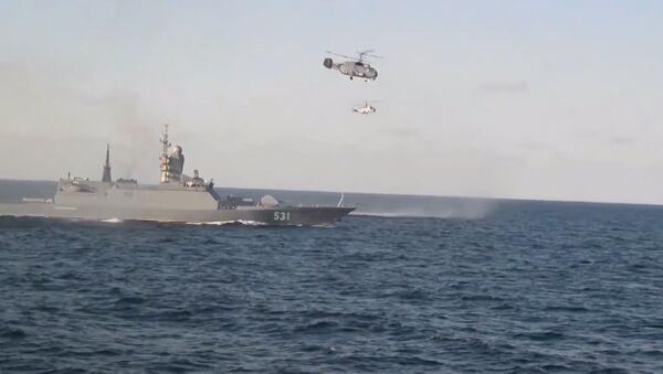 Учения Балтийского флота РФ на Балтике - Sputnik Латвия