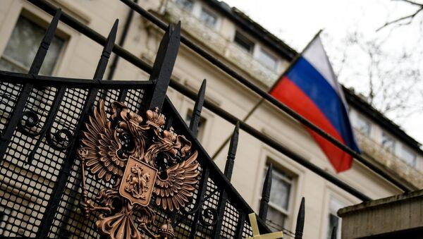 Krievijas vēstniecība Lielbritānijā - Sputnik Latvija