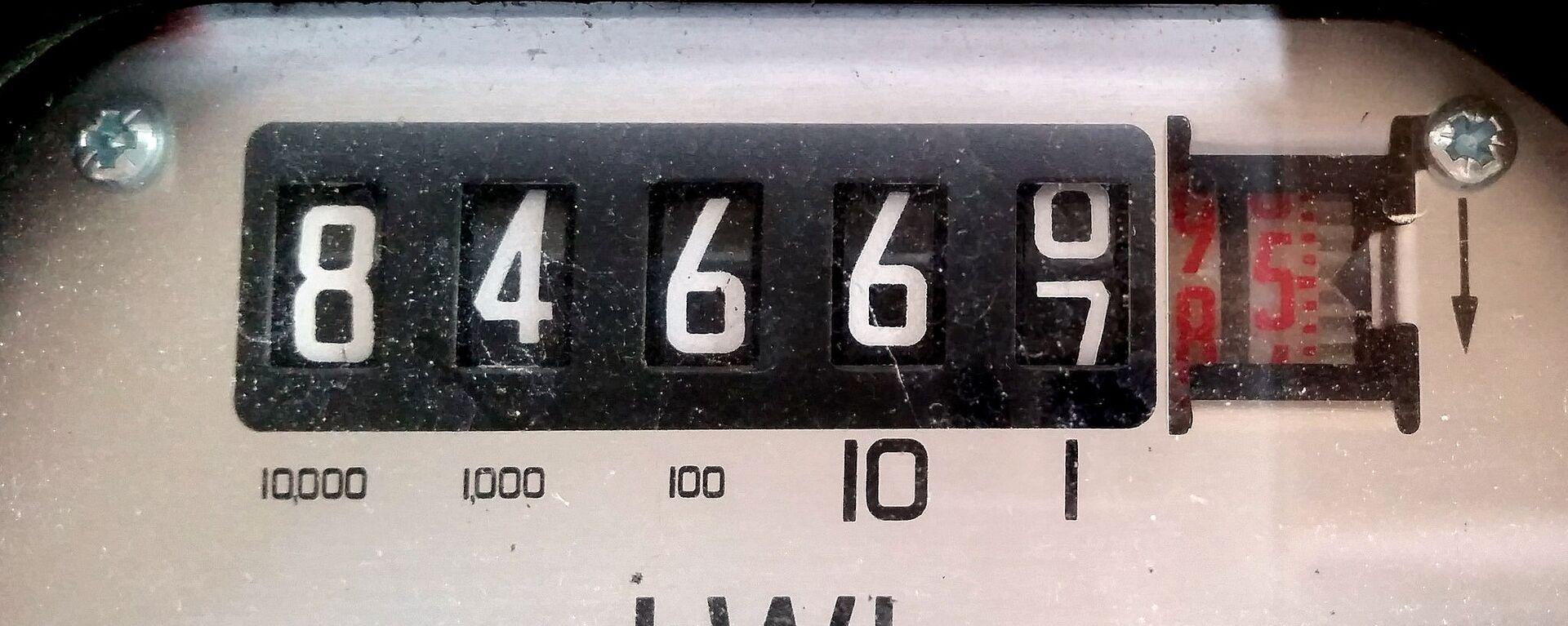 Счетчик электрической энергии - Sputnik Латвия, 1920, 12.10.2021