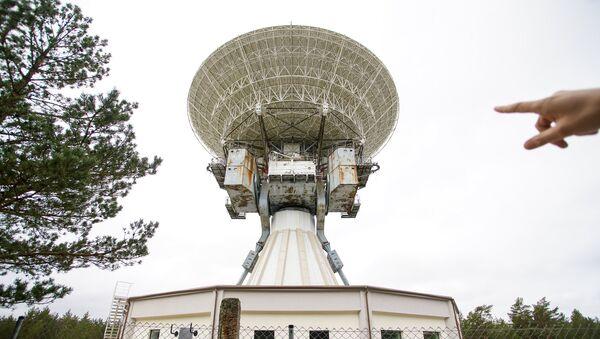 Радиотелескоп РТ-32 в поселке Ирбене - Sputnik Латвия
