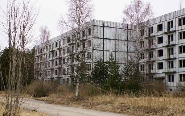 В поселке Ирбене, построенном советскими военными, проживало 2000 человек - Sputnik Латвия