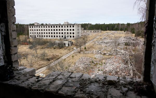 Заброшенный поселок Ирбене - Sputnik Латвия