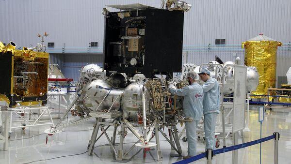 Макет Луны-25 - Sputnik Латвия