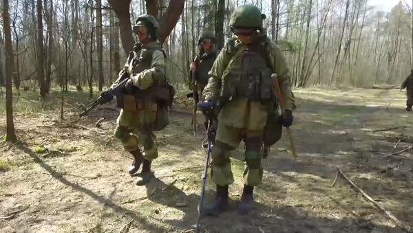 Десантники России и Беларуси провели совместные учения под Брестом - Sputnik Латвия