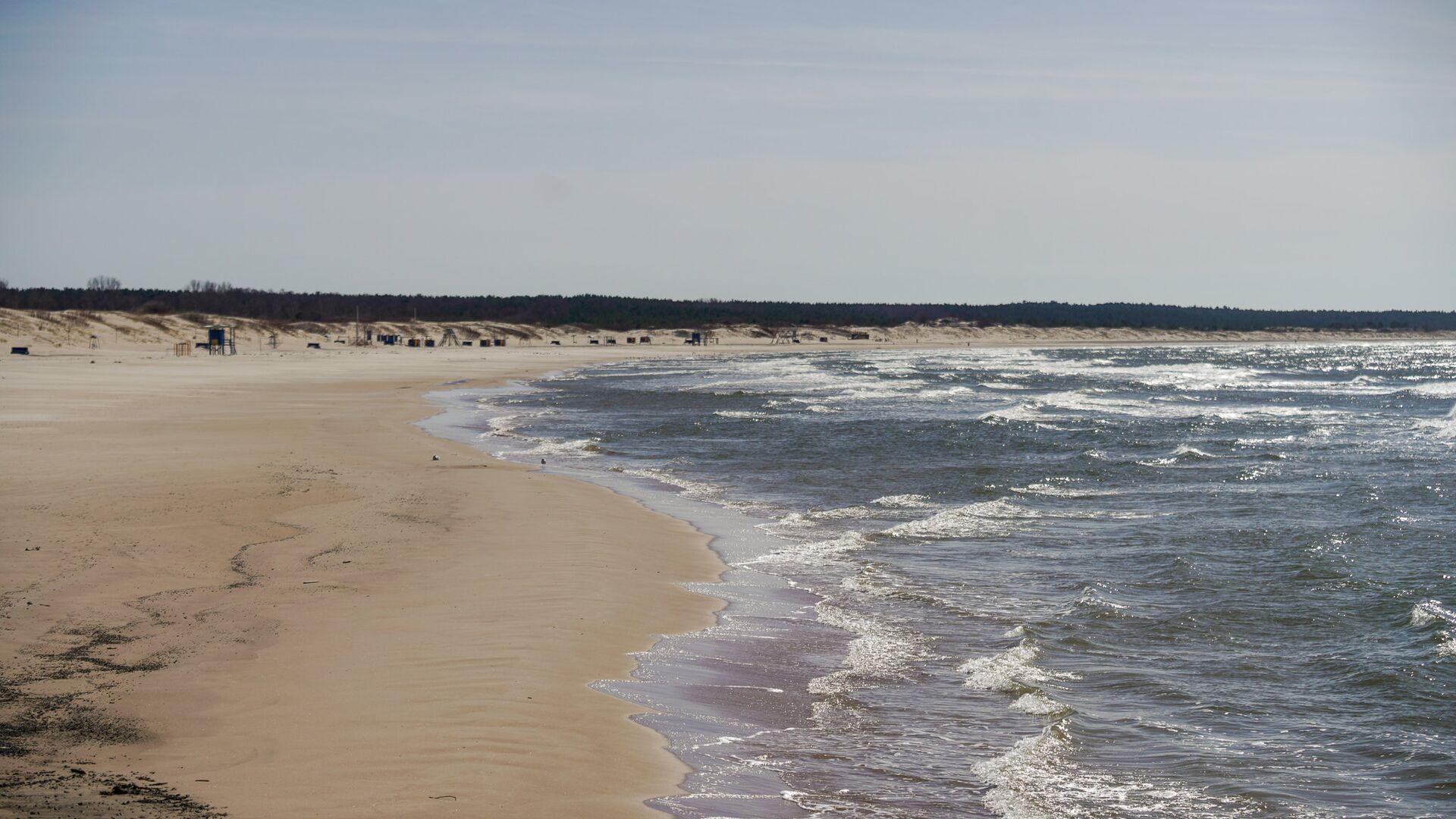 Пляж в Вентспилсе - Sputnik Латвия, 1920, 01.09.2021