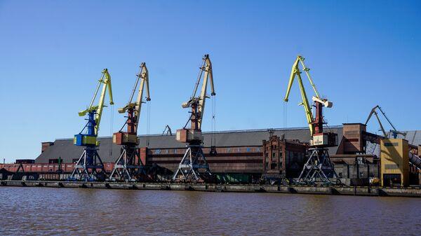 Вентспилсский свободный порт - Sputnik Latvija