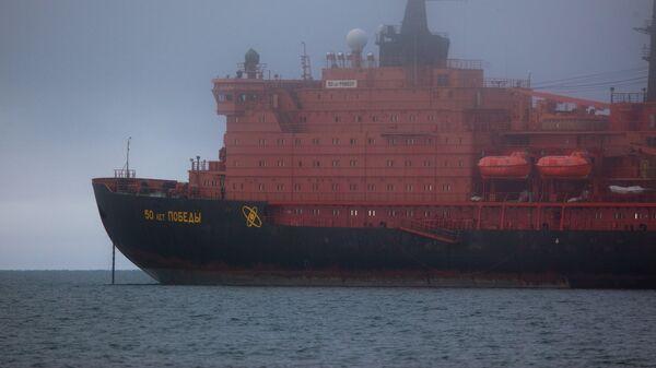 Северный морской путь. Порт Певек - Sputnik Latvija