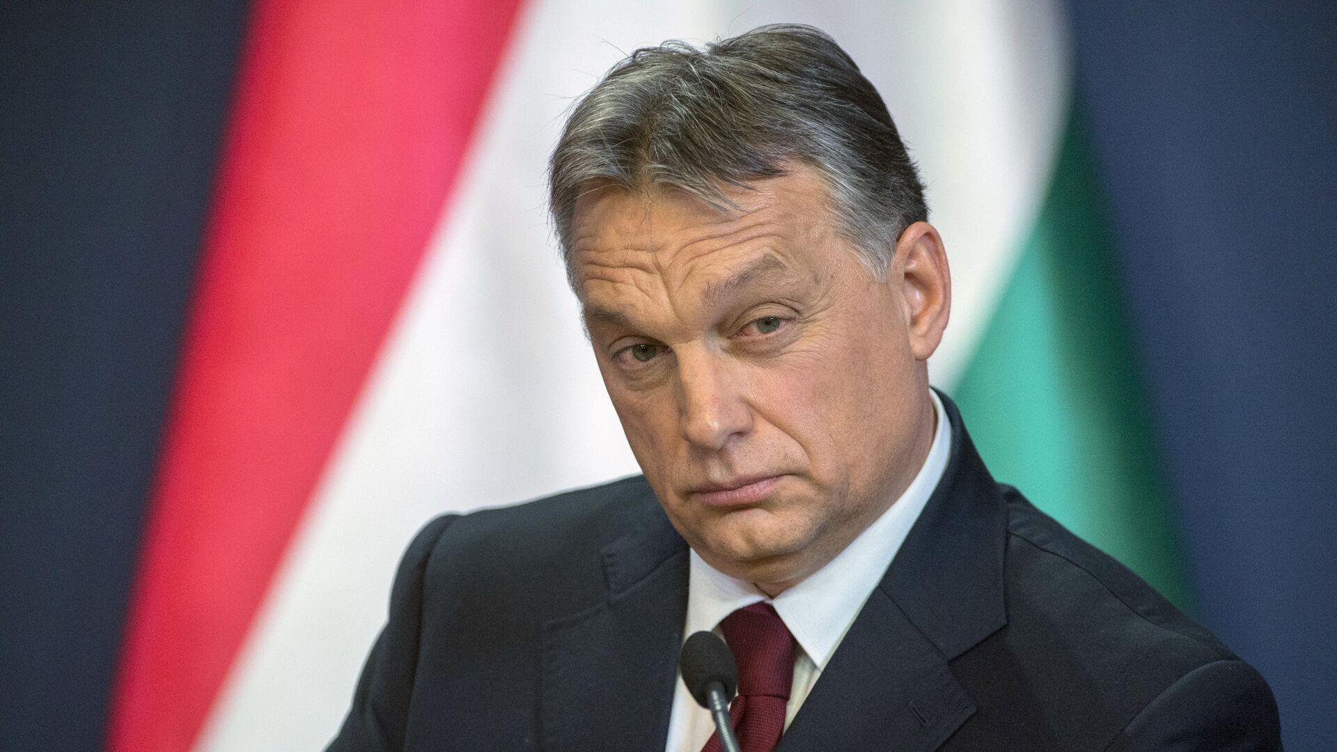 Премьер-министр Венгрии Виктор Орбан - Sputnik Латвия, 1920, 07.09.2021