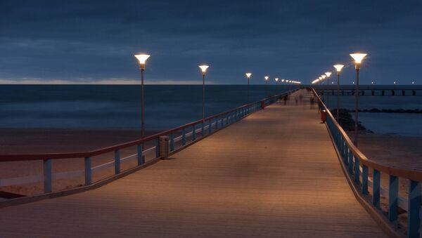 Nakts Palangā. Foto no arhīva - Sputnik Latvija