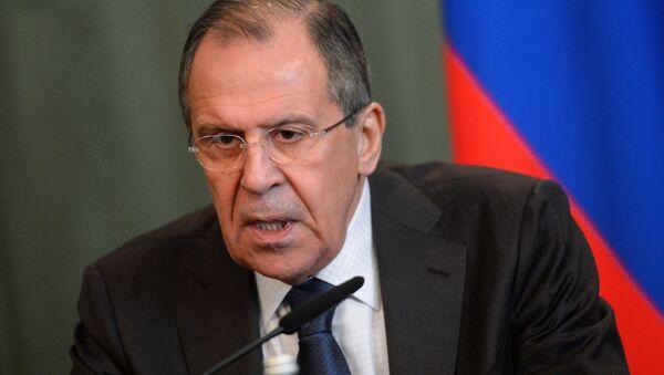 Министр иностранных дел РФ Сергей Лавров - Sputnik Латвия