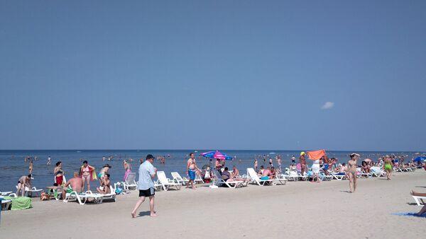 Jūrmalas pludmale - Sputnik Latvija