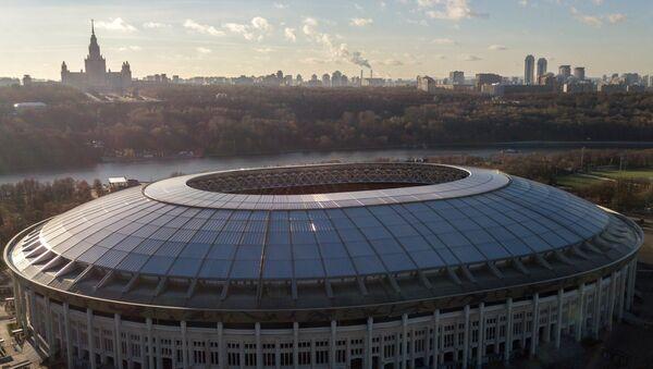 Большая спортивная арена Лужники в Москве. - Sputnik Латвия