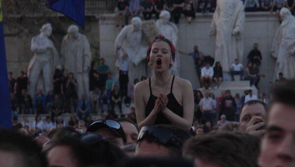 Протесты в Будапеште - Sputnik Латвия