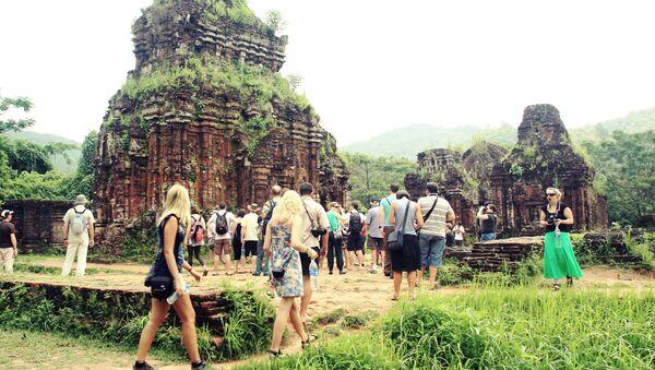 Комплекс индуистских храмов Мишон во Вьетнаме - Sputnik Latvija
