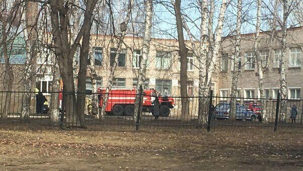 Нападение на школу №1 в Стерлитамаке. 18 апреля 2018 - Sputnik Латвия