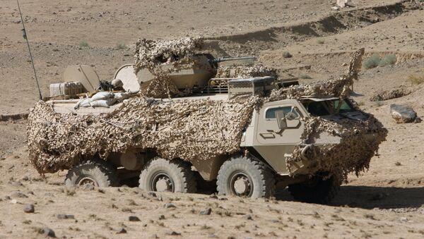 Эстонский XA-180 в Афганистане - Sputnik Латвия