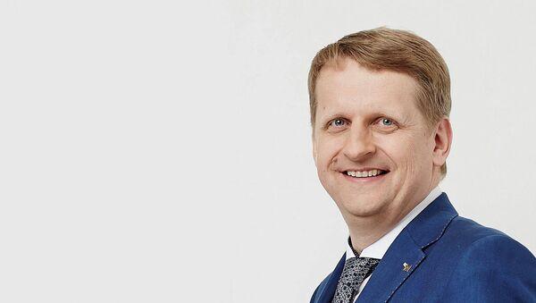 Председатель совета Lattelecom Гатис Кокинс - Sputnik Латвия
