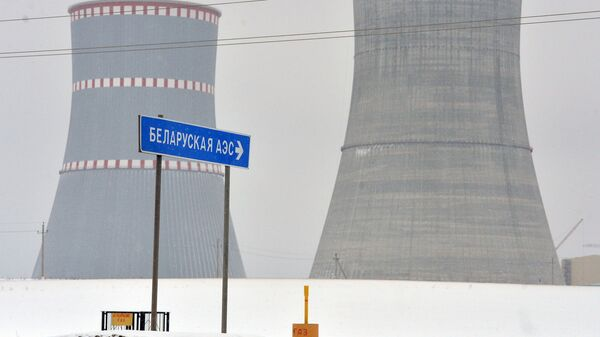 Строящаяся БелАЭС - Sputnik Latvija