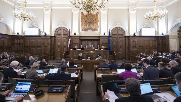 Заседание Сейма Латвии - Sputnik Латвия