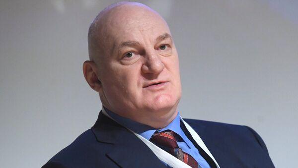 Президент Российской ассоциации криптовалют и блокчейна (RACIB) Юрий Припачкин - Sputnik Латвия