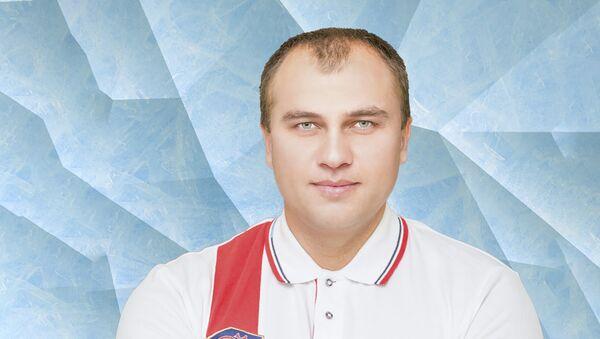 Старший тренер юниорской сборной России по скелетону Сергей Колпаков - Sputnik Латвия