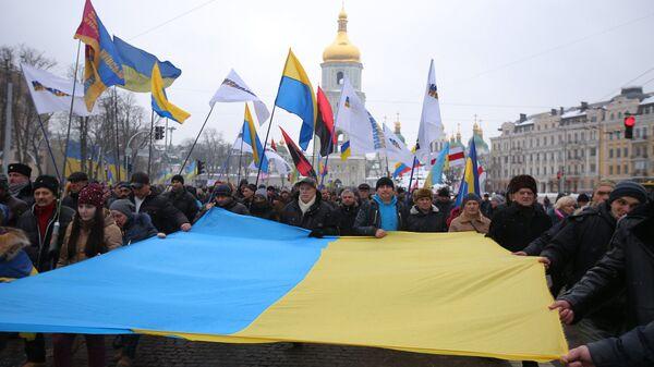 Марш в Киеве, архивное фото - Sputnik Latvija