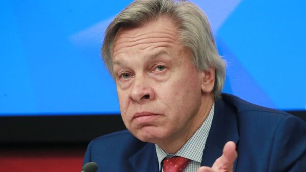 Круглый стол в связи с арестом правозащитника А. Гапоненко латвийскими властями - Sputnik Latvija