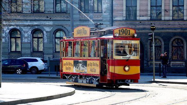 Retro tramvajs - Sputnik Latvija