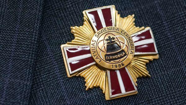 Latvijas biedrības Černobiļa piemiņas zīme - Sputnik Latvija