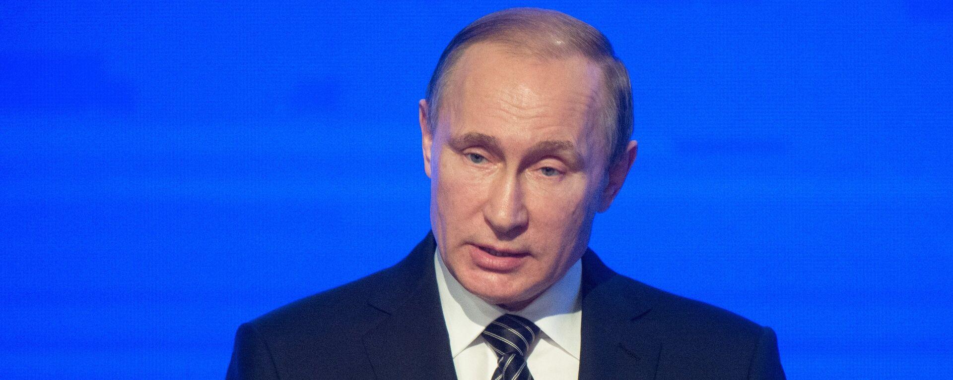 Президент России Владимир Путин - Sputnik Латвия, 1920, 30.06.2016