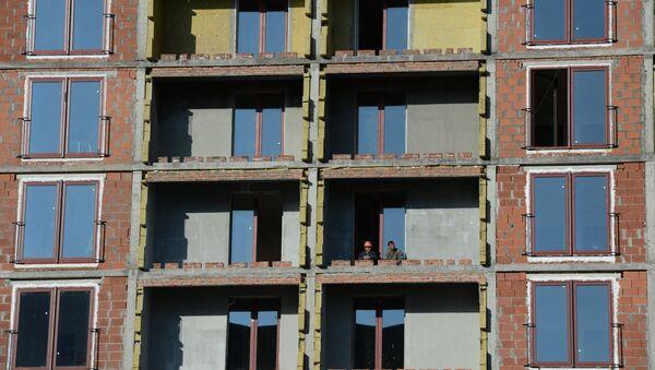 Строительство жилых домов - Sputnik Латвия