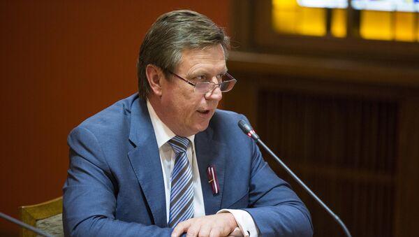 Премьер министр Латвии Марис Кучинскис - Sputnik Латвия