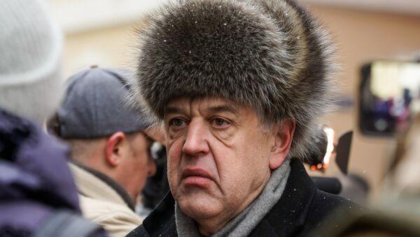 Латвийский правозащитник Александр Гапоненко. - Sputnik Латвия