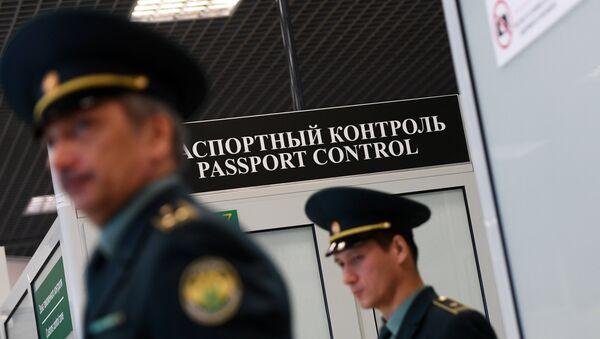 Lidosta Kazaņa muitas posteņa darbs - Sputnik Latvija