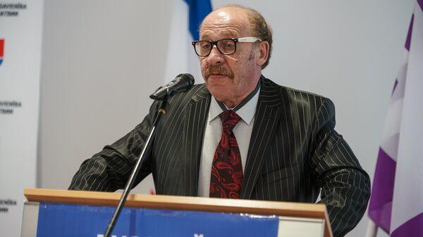 Яков Плинер на съезде партии Русский союз Латвии - Sputnik Latvija