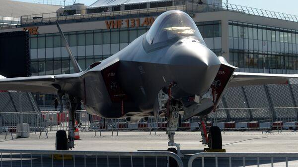 Истребитель-бомбардировщик Lockheed Martin F-35 Lightning II, архивное фото - Sputnik Latvija