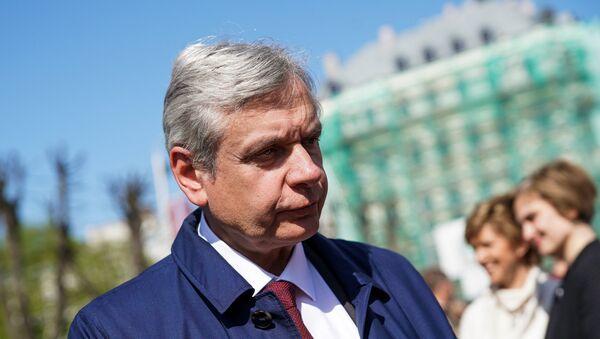 Министр образования Латвии Карлис Шадурскис - Sputnik Latvija