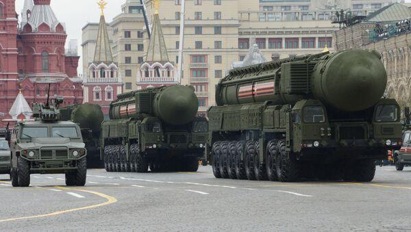 Генеральная репетиция Парада Победы на Красной площади - Sputnik Latvija