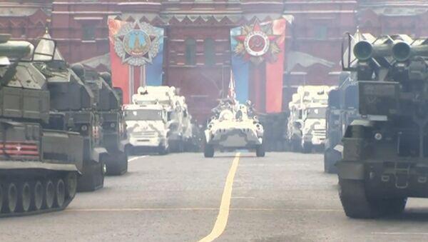 Лучшие моменты генеральной репетиции парада Победы в Москве - Sputnik Латвия