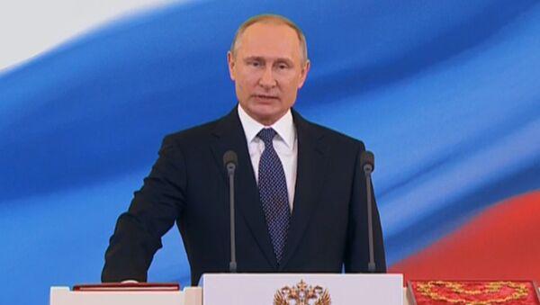 Церемония инаугурации избранного президента РФ Владимира Путина - Sputnik Латвия
