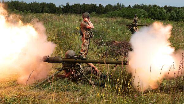 Учения пограничников во Львовской области - Sputnik Латвия