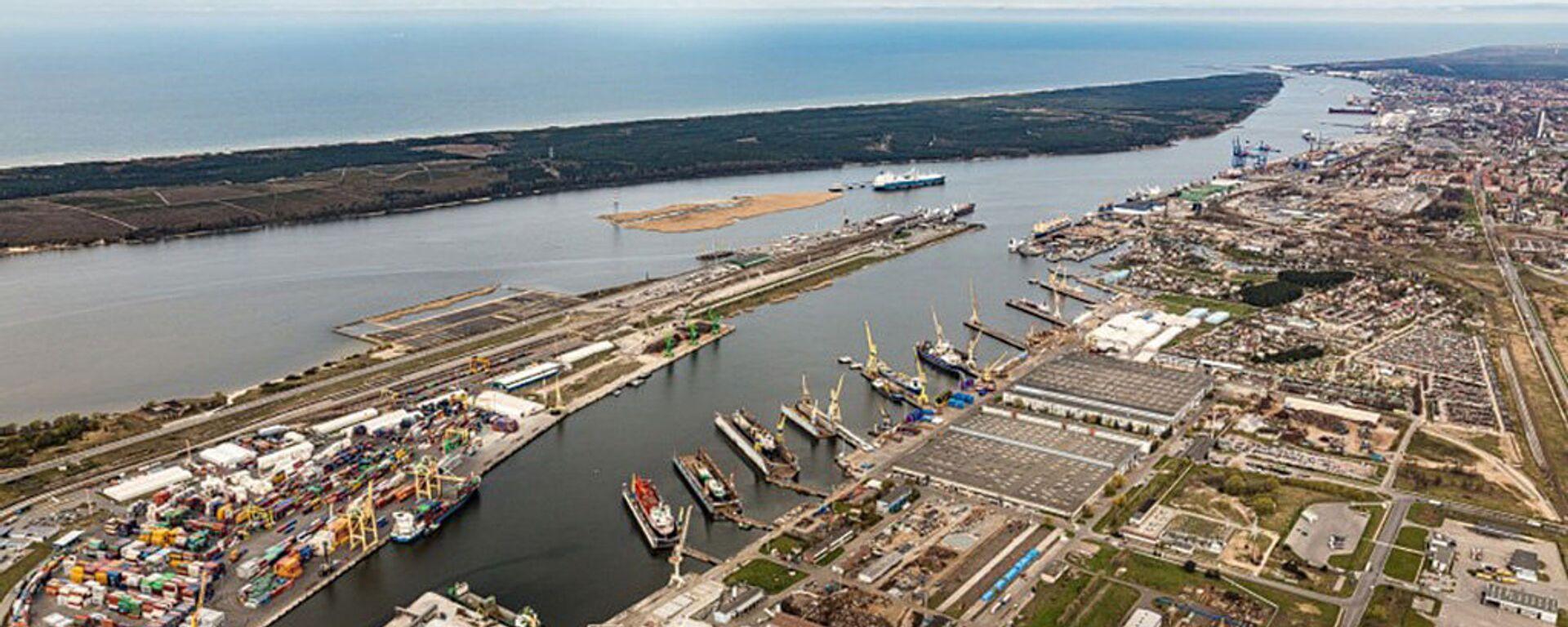 Клайпедский морской порт - Sputnik Латвия, 1920, 11.12.2020