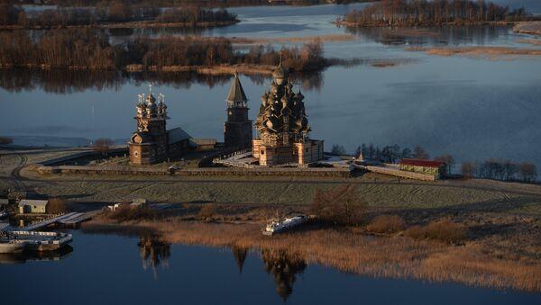 Республика Карелия. Музей-заповедник Кижи - Sputnik Латвия