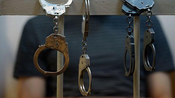 Noziegumā aizdomās turēto personu aizturēšana. Foto no arhīva - Sputnik Latvija