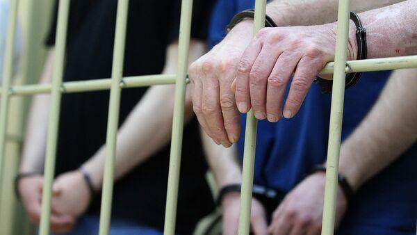 Задержание подозреваемых в совершении преступления - Sputnik Latvija