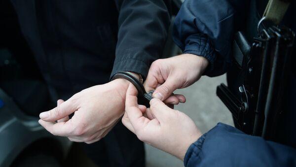 Задержание подозреваемого - Sputnik Латвия