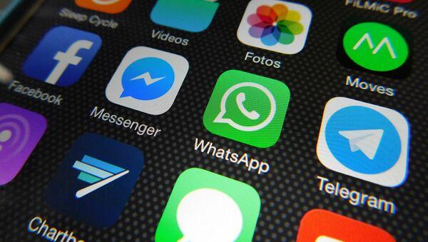 Whatsapp, Facebook Messenger, Telegram, Messages - Sputnik Latvija