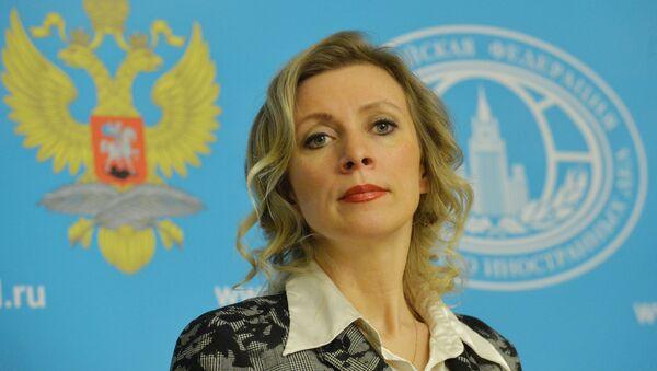 Krievijas Ārlietu ministrijas pārstāve Marija Zaharova - Sputnik Latvija
