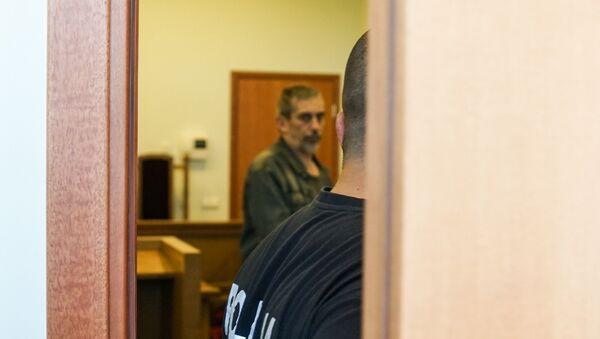 Владимир Линдерман на заседании суда - Sputnik Латвия