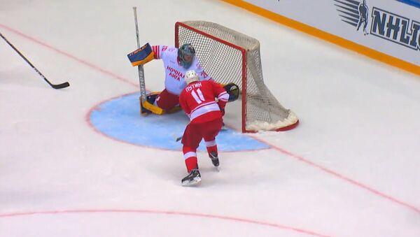 Путин на матче Ночной хоккейной лиги в Сочи - Sputnik Латвия